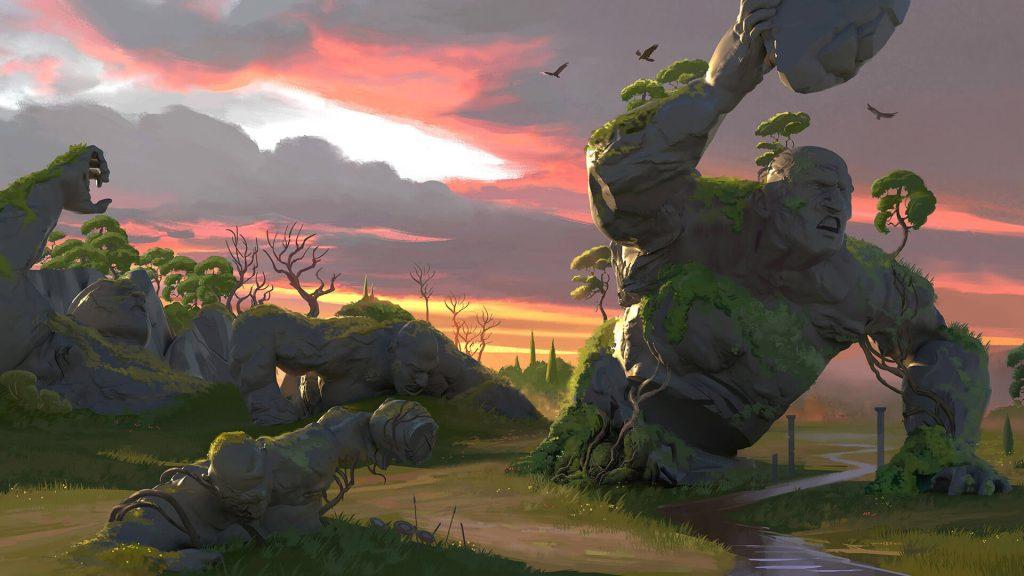 Immortals Fenyx Rising level design screenshot