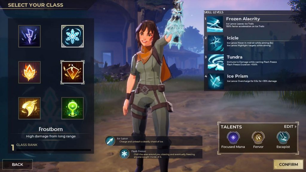 Spellbreak cartoon character