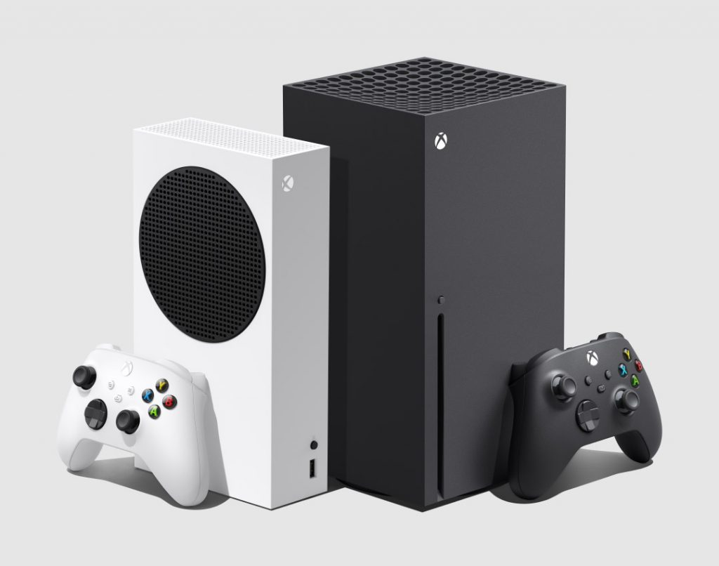 Xbox Series X and Series S side by side